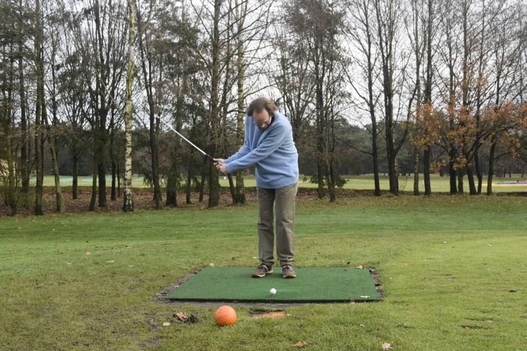 Golfen met een extra handicap