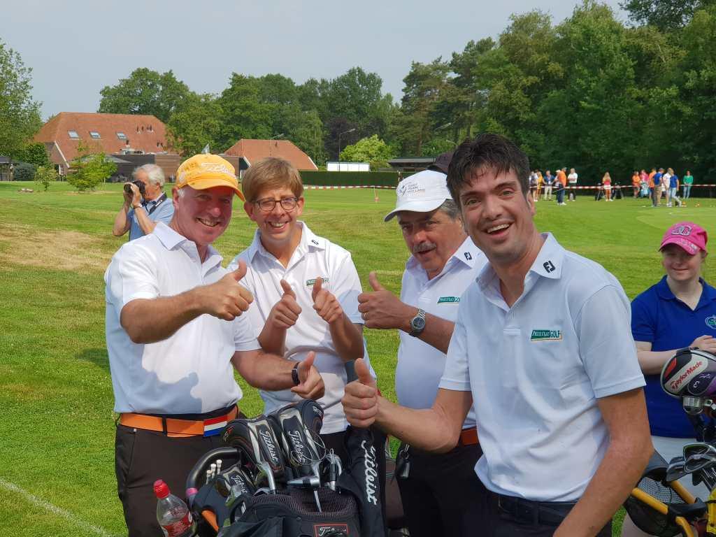 Steeds meer mensen met een beperking gaan golf spelen